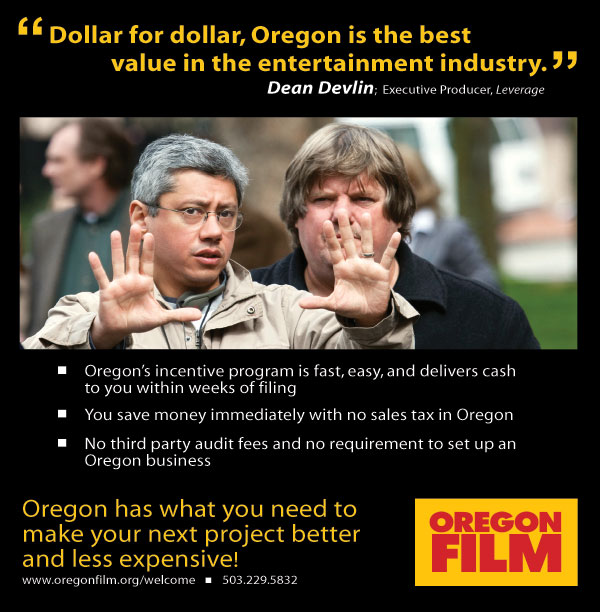 Oregon Film's New Ad