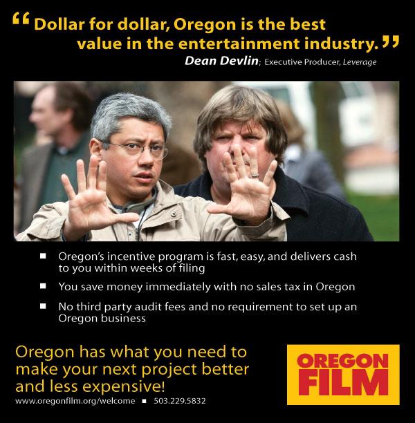 Oregon Film's New Ad
