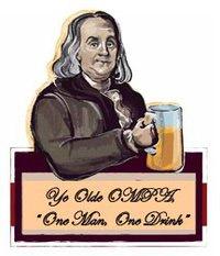 Ye Olde OMPA, One Man One Drink